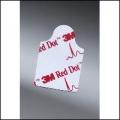 ECG Electrode Resting Red Dot 3M 2330 Pk 100