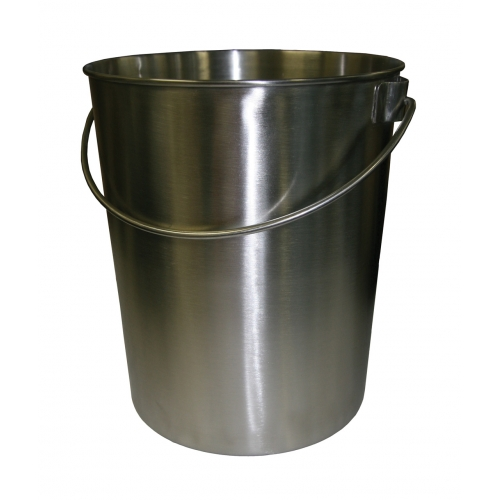 Steel Buckets nz Stainless Steel Bucket 265 x
