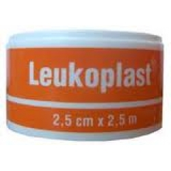Elastic Bandage 2.5cm x 2.5m Adhesive Leukoplast 1071