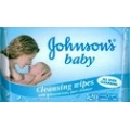 Johnsons Baby Cleansing Wipes 20s