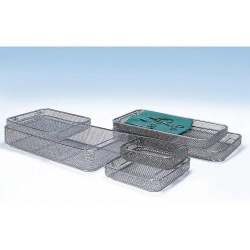 CBM Wire Mesh Basket Stainless Steel 480 x 240 x 50