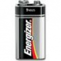 BATTERY ENERGIZER MAX 9V