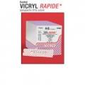 Sutures Vicryl Rapide 3/0 CT-1 1/2 crc  tp36m 90cm box 12