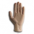 CLEAR LATEX GLOVES LOW POWDER BOX 100