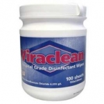 VIRACLEAN DISINFECTANT WIPES  or 2 x Flat Packs