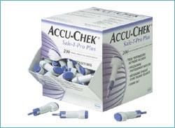 ACCU-CHEK® Safe-T-Pro Plus lancet box 200